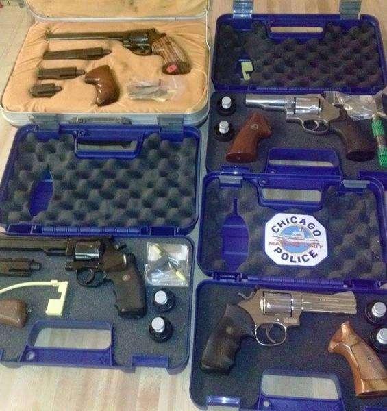 4 revolvers.
