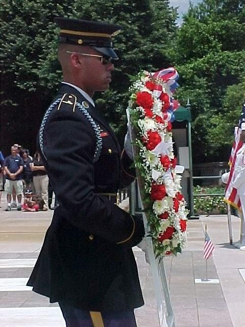 _MemorialDay05_Arlington_Laying_Wreath.
