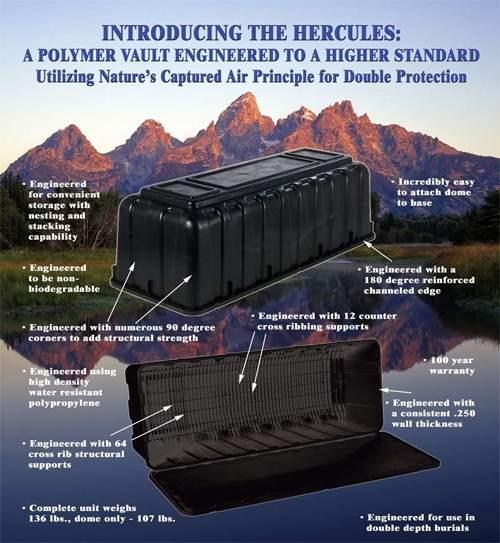 A Polymer Vault Engineered to a Higher Standard.