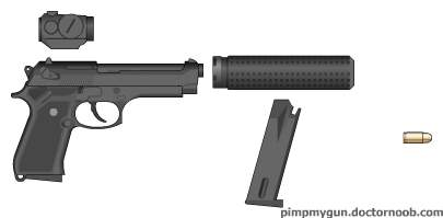 beretta offensive handgun part units to make up the offensive handgun system.