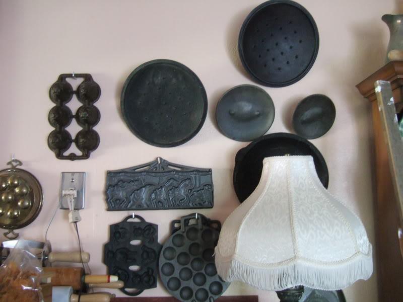 cast iron lids etc.