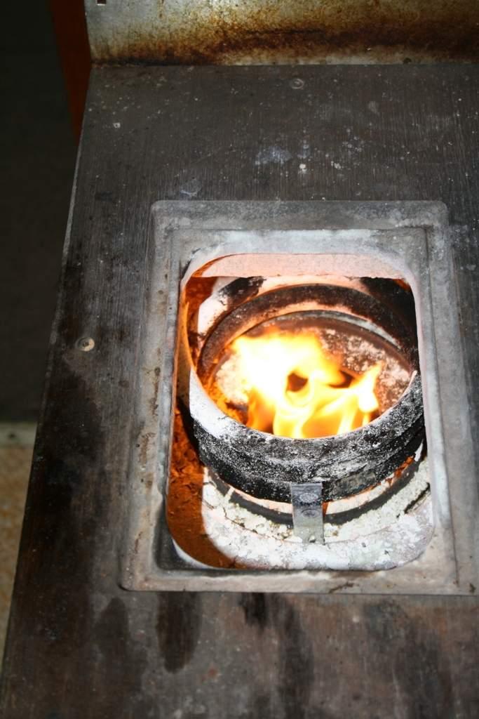 Firebox coil.