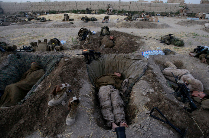 foxholes-Afghanistan.