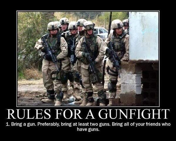 gunfight.