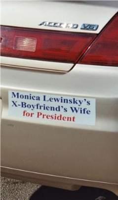 hillary sticker.