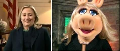 HillaryMissPiggy.