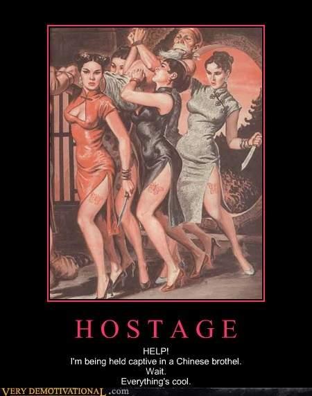 hostage.
