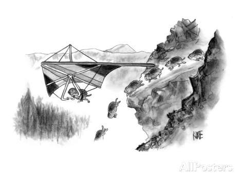john-kane-lemming-avoids-death-by-hang-gliding-away-from-cliff-new-yorker-cartoon.