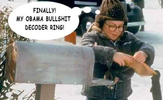 Obama Bullshit Decoder Ring.