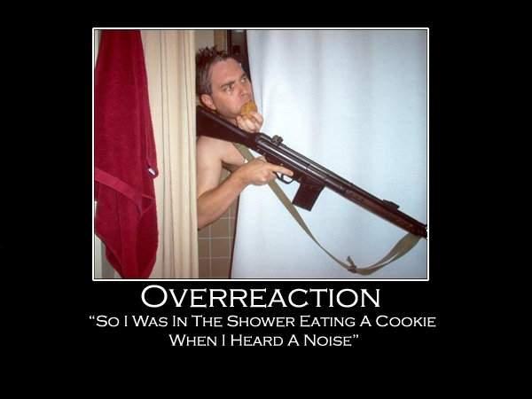 overreaction.