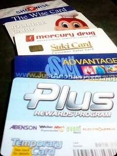 PC-Rewards cards.