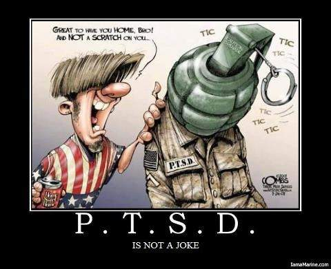 PTSD CARTOON.