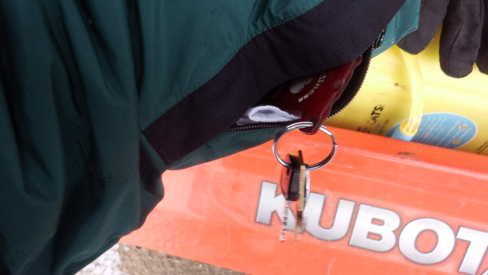 Snow and Sleet Day.  Handy key pocket.JPG