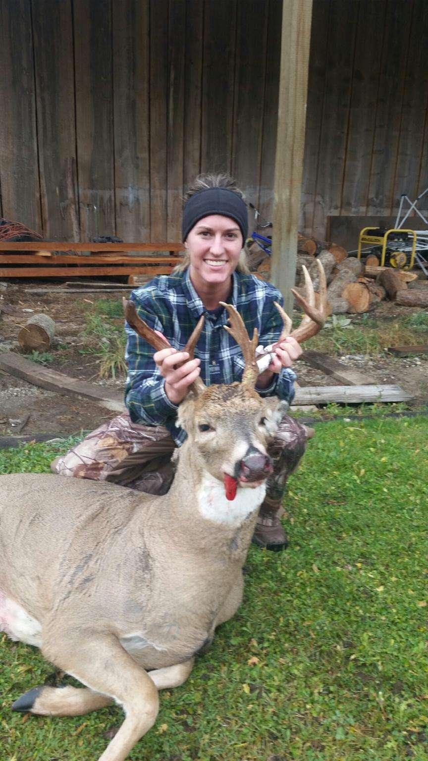 Tias first deer.