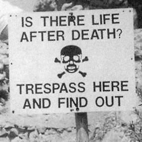 Trespass.