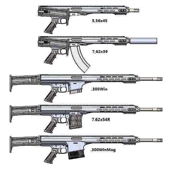 New multi caliber weapon system called konev modular rifle upload2018 3 1010 26 22 thecheapjerseys Choice Image