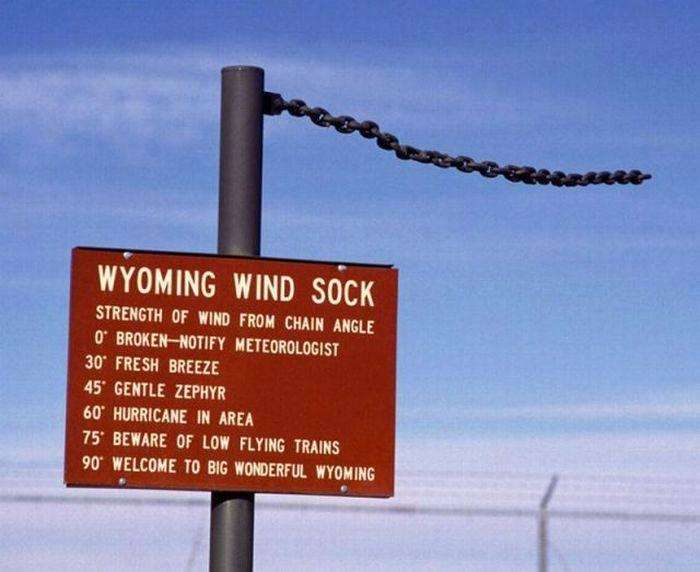 Wyo wind sock.