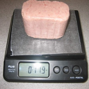SPAM weight