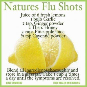 Natures Flu Shots