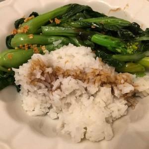 Vegetarian dinner tonight.