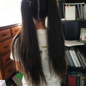 Sassy ponytails