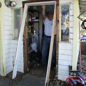 Back porch door