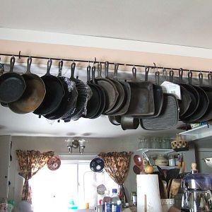 Our cast iron.
