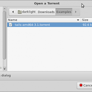 BitTorrent on Linux - Screenshots