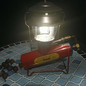Gas Pressure Appliances and other lamps and lanterns