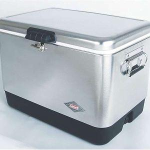 Coleman Steel Belted Cooler. Made In...