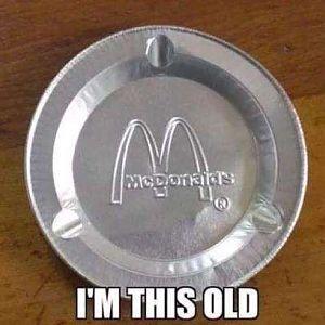 McDonalds Ashtray