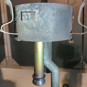No weld CQ shade holder