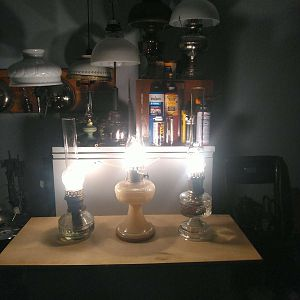 Coleman Kero-Lite and other non-pressure lamps